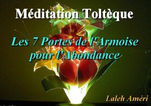 CD de la Méditation Toltèque: Les 7 Portes de l'Armoise pour l'Abondance