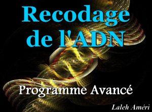 Recodage de l'ADN: Programme Avancé - CD2
