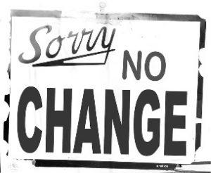 Changements difficiles