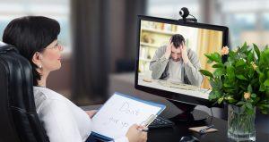 Déroulement de la thérapie en ligne